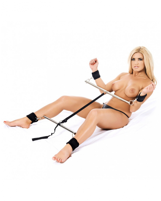 DOUBLE SPREADER BAR WITH SOFT CUFFS