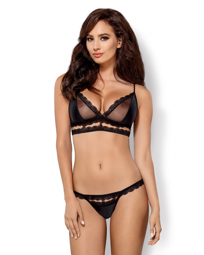 868-SET-1 Ensemble 2 pcs - Noir
